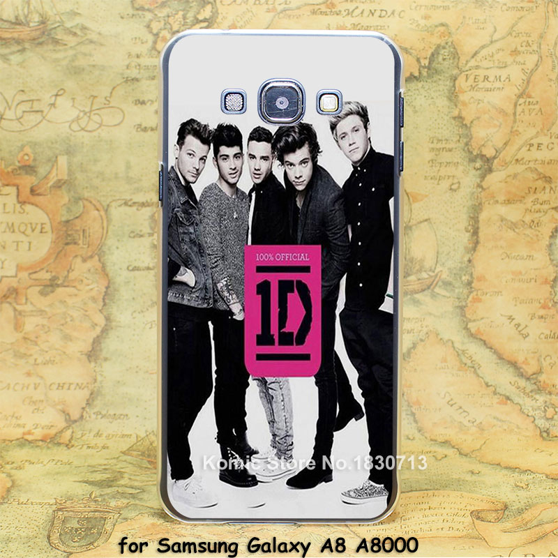 Music Band one direction where we are book Design hard transparent clear Skin Cover Case for Samsung Galaxy a3 a5 a7 a8 a9(China (Mainland))