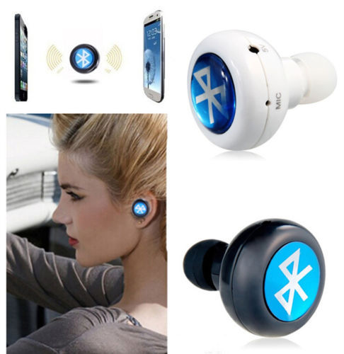 1x Mini In-ear Mono Answer a Call Wireless Bluetooth Headset Earphone Earbuds For PC iPhone Samsung(China (Mainland))