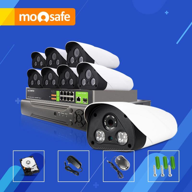 8CH CCTV System POE NVR Onvif 1080P HD Sony Sensor 25fps Array IR Outdoor Surveillance Security IP POE Camera(China (Mainland))