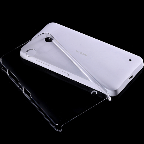 For Nokia Lumia 630 635 N630 N635 Ultra Thin Strong Protective Hard Back Cases Transparent Clear Crystal Covers Case(China (Mainland))