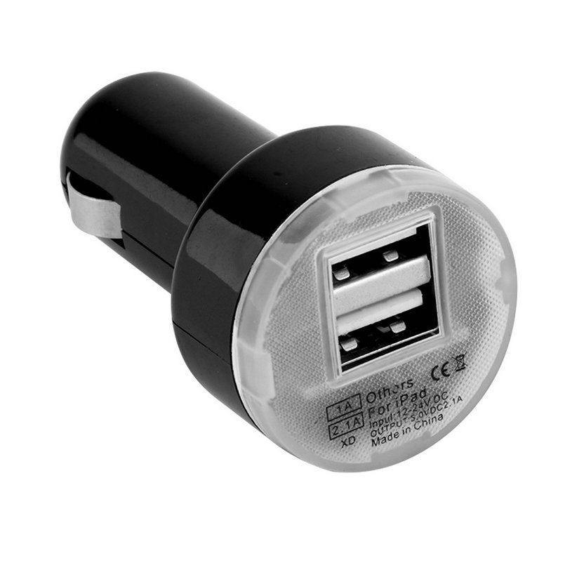 Micro Auto Universal Dual 2 Port USB Car Charger For iPhone For iPad Mini Car Charger