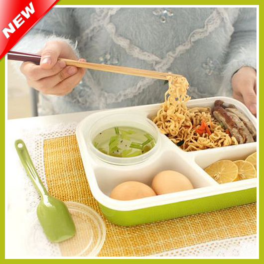 online buy wholesale compartment lunch boxes from china compartment lunch box. Black Bedroom Furniture Sets. Home Design Ideas