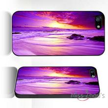 For iphone 4/4s 5/5s 5c SE 6/6s plus ipod touch 4/5/6 back skins mobile cellphone cases cover Paradise Sunset beautiful