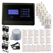 [Send From USA]!!!APP Control Wireless GSM Touch keypad 433Mhz Home Security Alarm System Auto Dialer(China (Mainland))