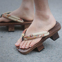 Flip מקרית כישלון כפכפים יפניים מים קיץ נעלי שקופיות גברים פלטפורמת חיצוני סנדלי 2018 גודל 46 נחמד נעלי בית גדול 47 geta(China)