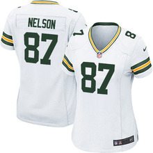 100% Stitiched green bay packers Brett Favre Aaron Rodgers Ha Ha Clinton-Dix Eddie Lacy Clay Matthews Bart Starr For women(China (Mainland))