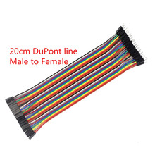 Buy Free 400pcs dupont cable jumper wire dupont line Female Male dupont line 20cm 1P 40P arduino for $8.66 in AliExpress store