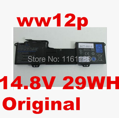 original notebook battery 14.8v 29WH For DELL for Inspiron DUO 1090 WW12P 9YXN1 TR2F1 laptop battery(China (Mainland))