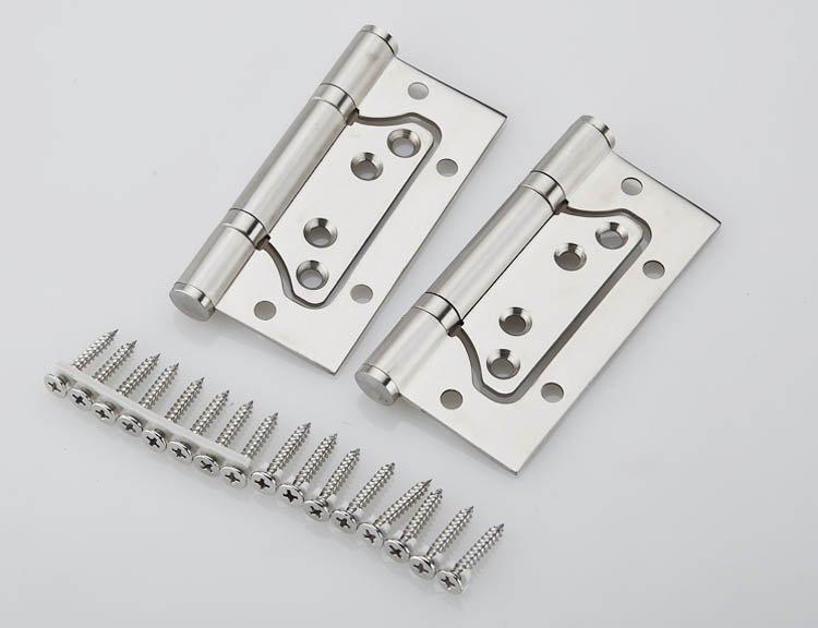 1Pair 4'' Stainless Steel Door Hinges Picture-in Hinges Heavy Duty Hinges New(China (Mainland))