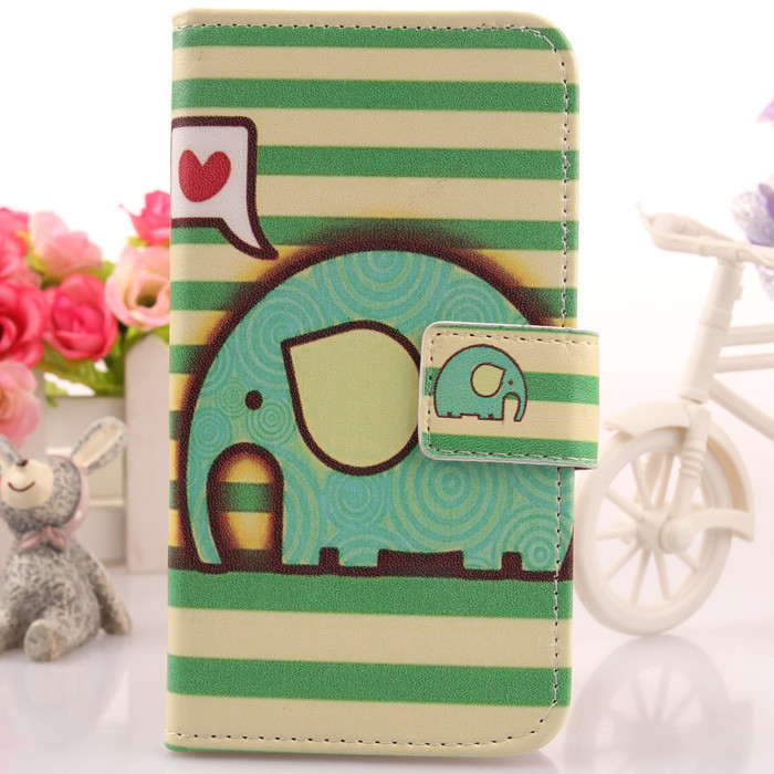 Case For UTime Smart G7 4.5 Quad Core Dual SIM Cell Phone Cover Colored Drawing Leather Skin Book Design & Card Slot Newest(China (Mainland))
