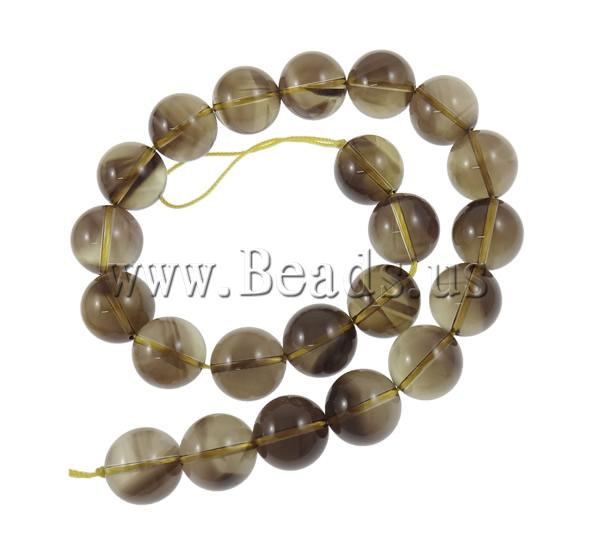 Free shipping!!!Quartz Jewelry Beads,Jewelry For Women, Smoky Quartz, Round, natural, 18mm, Hole:prox 2mm, Length:15.7 Inch<br><br>Aliexpress
