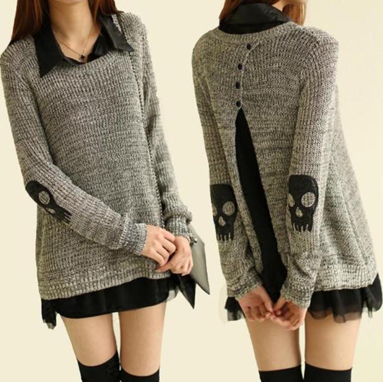 Punk Sweater Dress One-piece Dress Punk