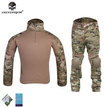 Buy Emersongear Gen2 BDU Combat uniform airsoft knee elbow pads Emerson hunting Camouflage clothes EM2725 Multicam mc for $96.60 in AliExpress store