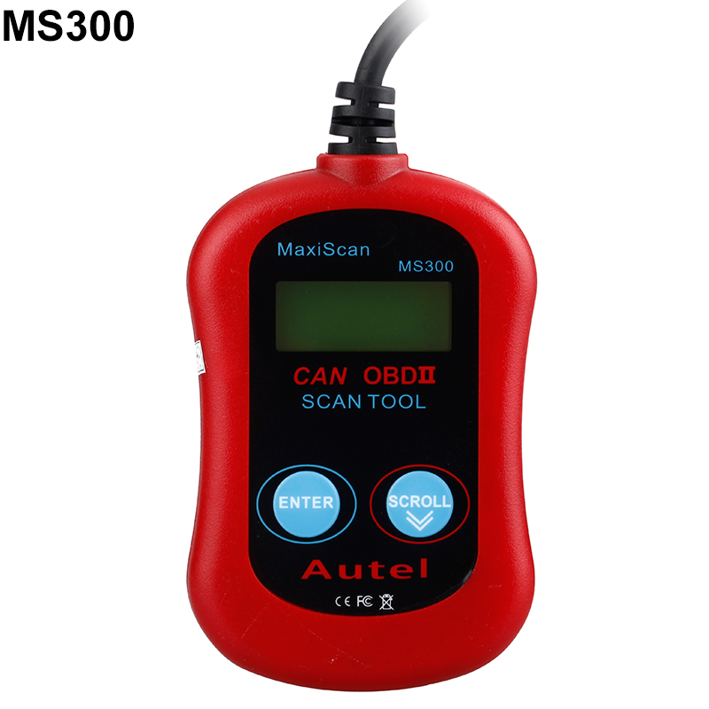 MS300 CAN OBD2 Auto OBD2 OBD II Diagnostic Scanner Code Reader Scan Tool USB Interface, Autel MaxiScan(China (Mainland))