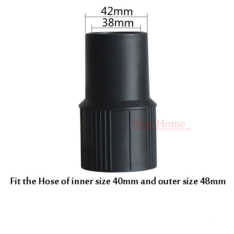 Central Vacuum Cleaner Parts 38mm*42mm Adapter Fit for Vacuum Cleaner Hose Vacuum Cleaner Tube Connector Fit Tube size 40mm(China (Mainland))
