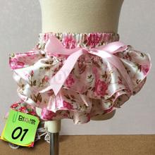 Baby Girl Ruffle Bloomer Princess Pettiskirt Panties Diaper Cover Nappy Shorts Briefs Summer Bottom Pants Nappy Covers PP Skirt(China (Mainland))