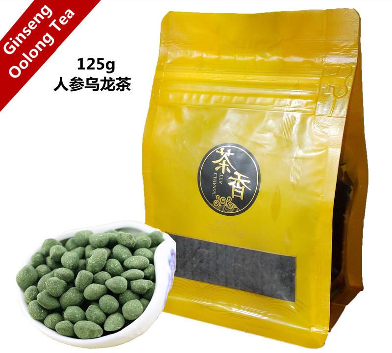 Promotion High Quality Chinese Ginseng Oolong Tea Fresh Natural Oolong Tea High Cost-effective Beauty Tea 125g + Secret Gift<br><br>Aliexpress