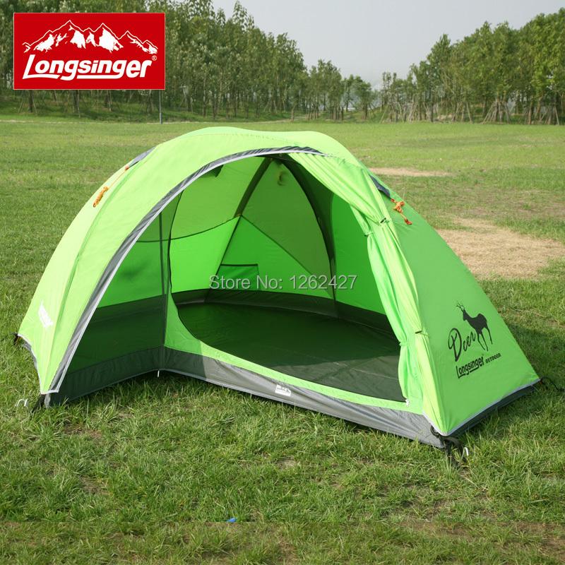 longsinger double Pole Double Dragon Walker elk outdoor camping hiking ultralight tent rain