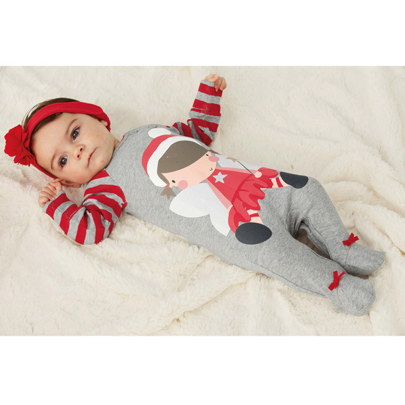 baby clothing boys girls clothes Christmas Long sleeve rompers+hats fall clothing sets winter jumpsuit/ creepers<br><br>Aliexpress