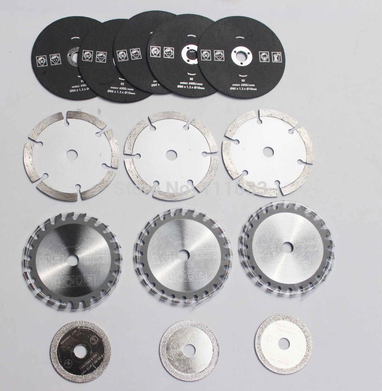Free shipping  14 pcs Multi-function mini saw blades electric circular saw marble tile cutting blade<br><br>Aliexpress