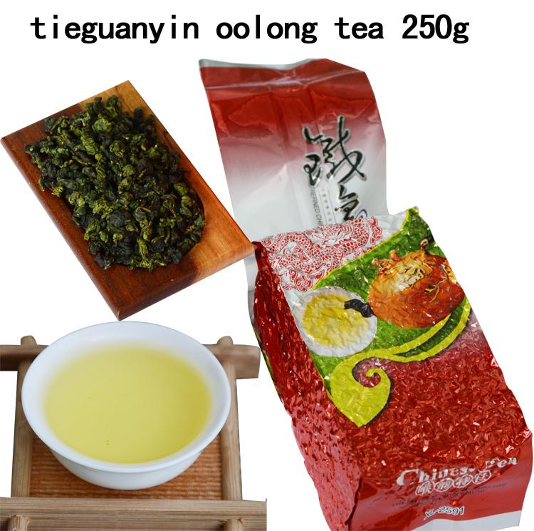 250g Top grade Chinese Oolong tea , TieGuanYin tea new organic natural health care products gift Tie Guan Yin tea(China (Mainland))