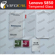 Lenovo S850 Tempered Glass 100% Original High Quality Screen Protector Film Accessory For Lenovo Cell Phone + Free shipping