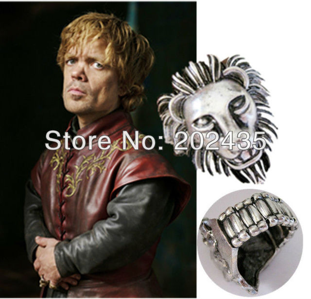 Freeshipping 20pc a lot  Lannister ring GAME OF THRONES  HR8016