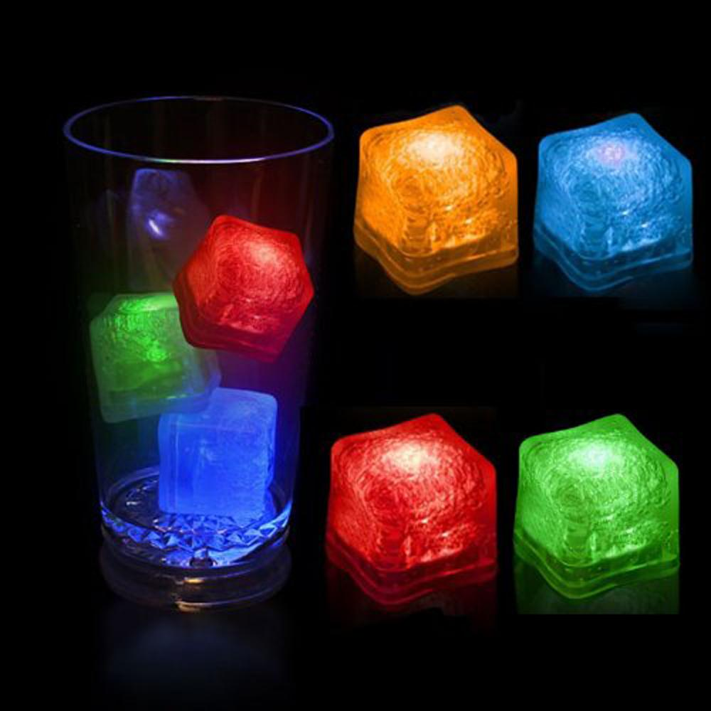 It's hot! Water Submersible Decorative LED Ice Cubes(China (Mainland))