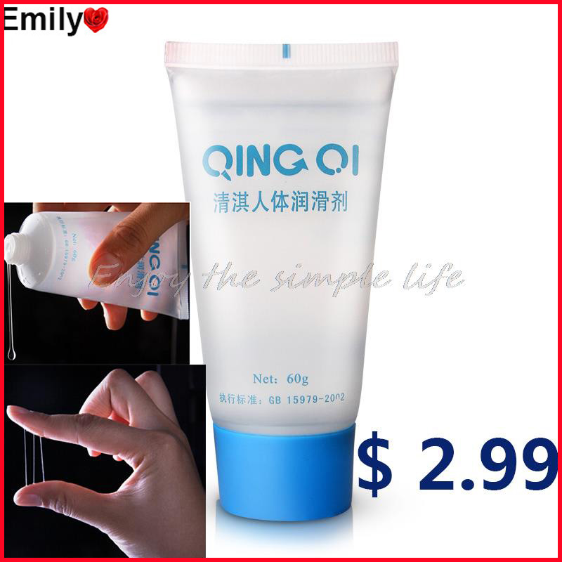 New Brand 60g Sex Oil Water-Soluble Vaginal Lubrication Personal Lubricant Oral Sexual Lubrication Anal Sex Lubricant