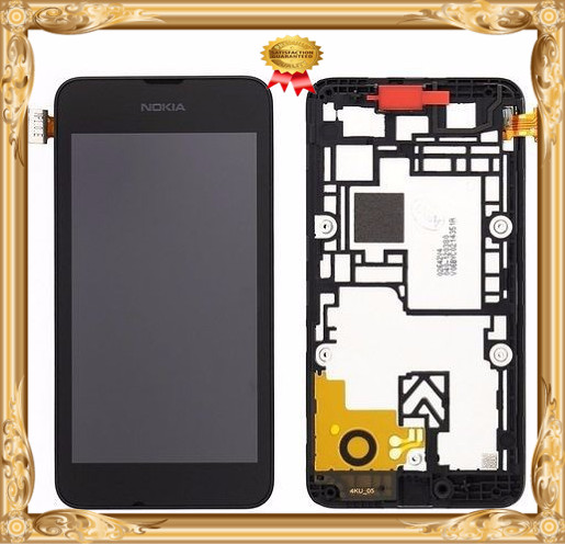 Для Nokia Lumia 530 стекло LCD дисплей с сенсорным экраном digitizer для сборки рамок замена
