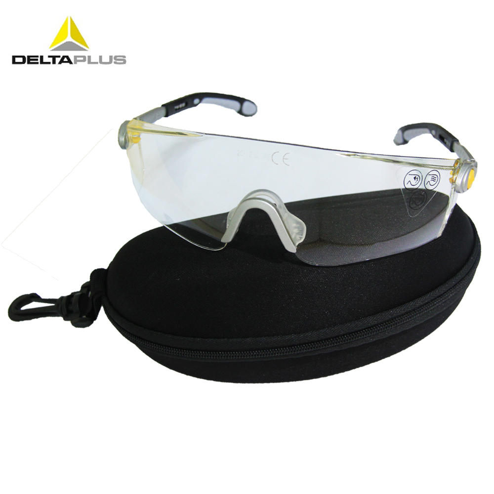 Гаджет  Free Shipping Delta Plus LIPARI 2 Clear Polycarbonate Safety Glasses Goggles 101115 None Безопасность и защита