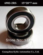 Best Price! 10 pcs 6902 2RS Deep groove ball bearing,bearing steel 15X28X7 mm(China (Mainland))