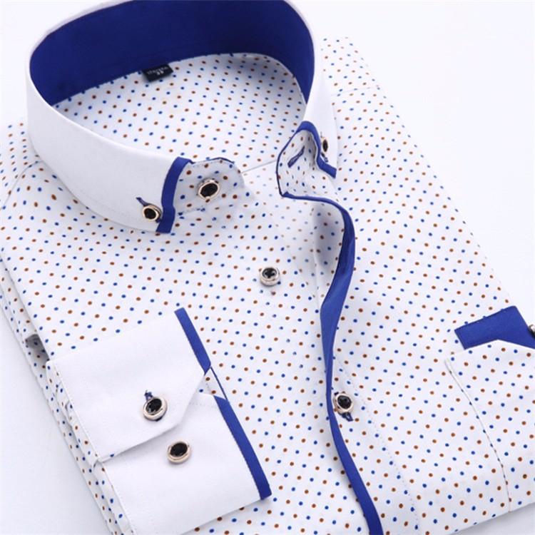 HTB1lIRLJVXXXXXNXXXXq6xXFXXXL - Big Size 4XL Men Dress Shirt 2016 New Arrival Long Sleeve Slim Fit Button Down Collar High Quality Printed Business Shirts M014