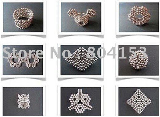 EMS Free Shipping Wholesale 216 D3mm Silver Neocube Toy Neo Cubes Magnetic Spheres Balls 50pcs/lot(China (Mainland))