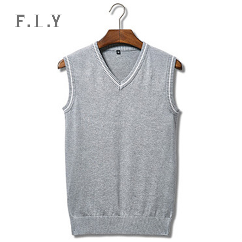 2016 New Arrival Fashion Mens sweaters Vest solid causal slim men sweaters and pullovers sleeveless male pull homme mxf0031(China (Mainland))