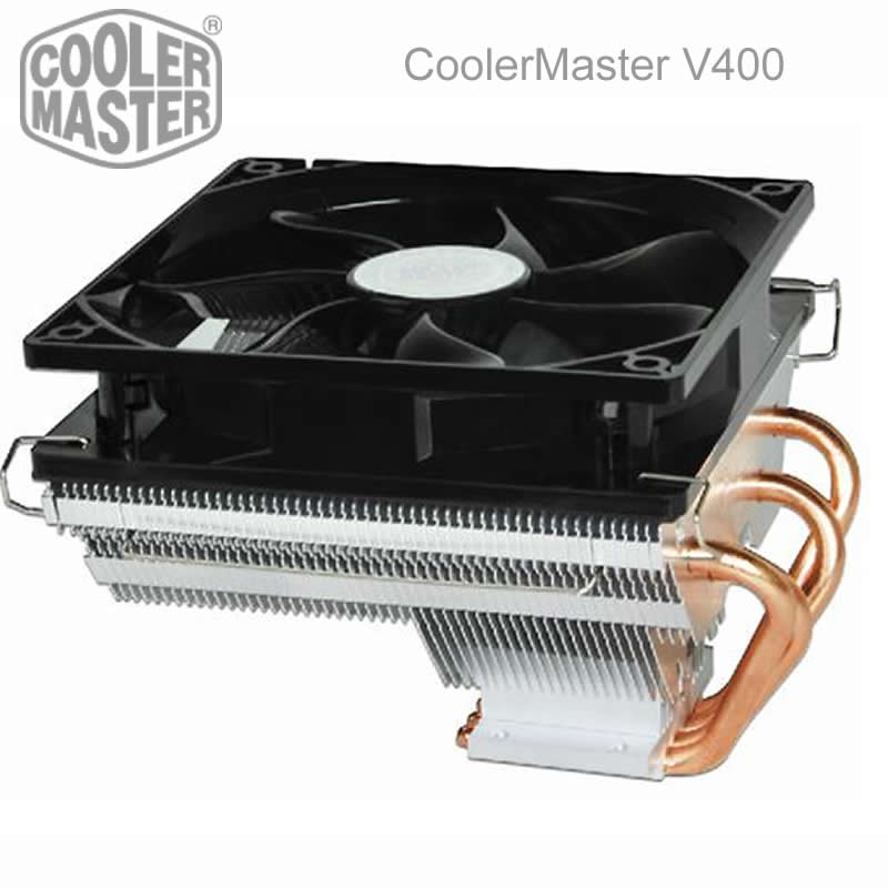 12cm fan 4 heatpipe for Intel LGA775/115x/1366, for AMD FM1/AM3+/M2+, cpu radiator CPU cooler CPU Fan CoolerMaster V400(China (Mainland))