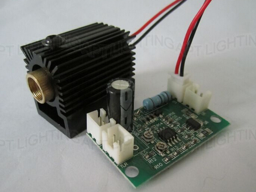 NEW 532nm 200mW Green Laser Module with Driver 808nm 532nm 660nm TTL heat sink