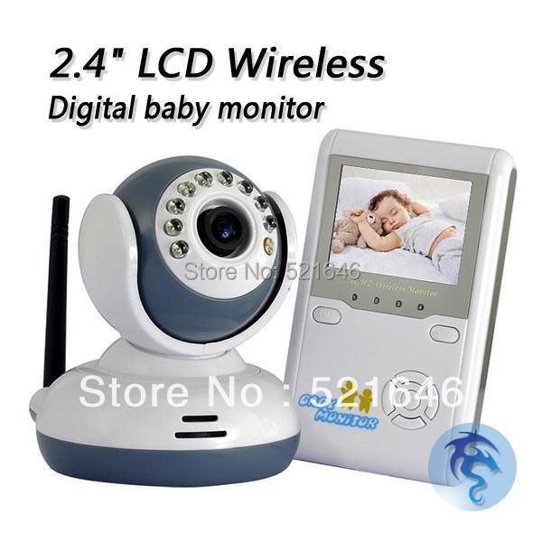 portable color wireless digital baby monitor inbuilt battery thermal. Black Bedroom Furniture Sets. Home Design Ideas