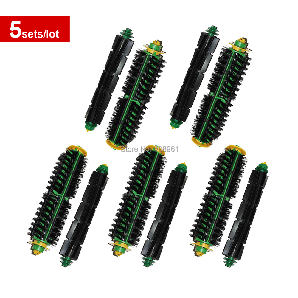 Комплектующие для пылесосов 10 /5 irobot roomba 500 for iRobot Roomba 500 Series 760 770 780 790 free post new 3 arms sidebrush filters flexible beater bristle brush kit for irobot roomba vacuum 500 series clean tool
