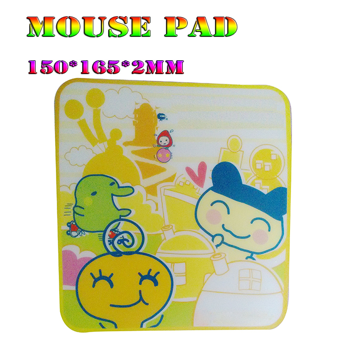 Anime Mouse Pad 150X165X2mmTop Game 3d PC Computer Gaming Mice Play Mat cartoon Mousepad sponge+Plastical Material Free shipping()