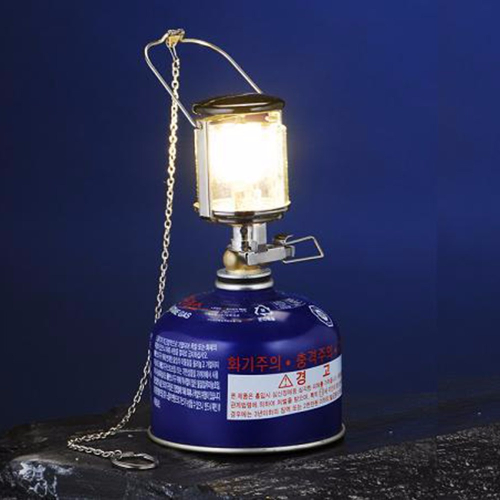 Outdoor Mini Camping Lantern Gas Light Windproof Tent Lamp Torch Hanging Free Shipping(China (Mainland))