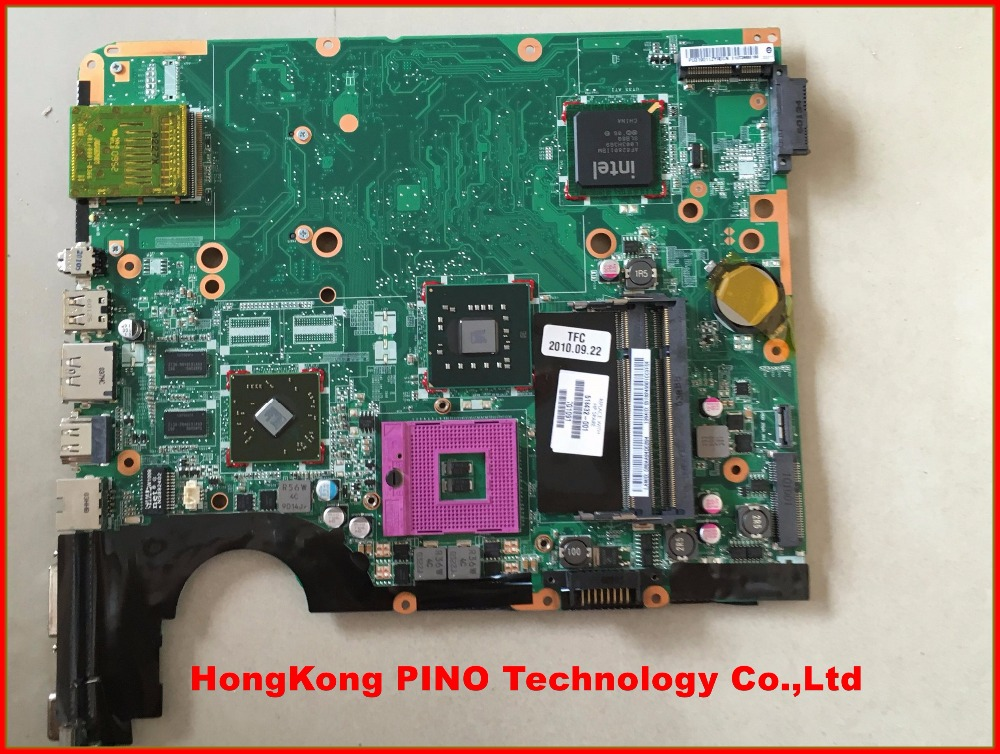 518432-001 for HP DV6 laptop motherboard chipset 518432-001 DAUT3DMB8D0 working 100% tested(China (Mainland))