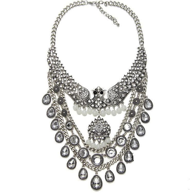 download image vintage peacock necklace pc android iphone and ipad