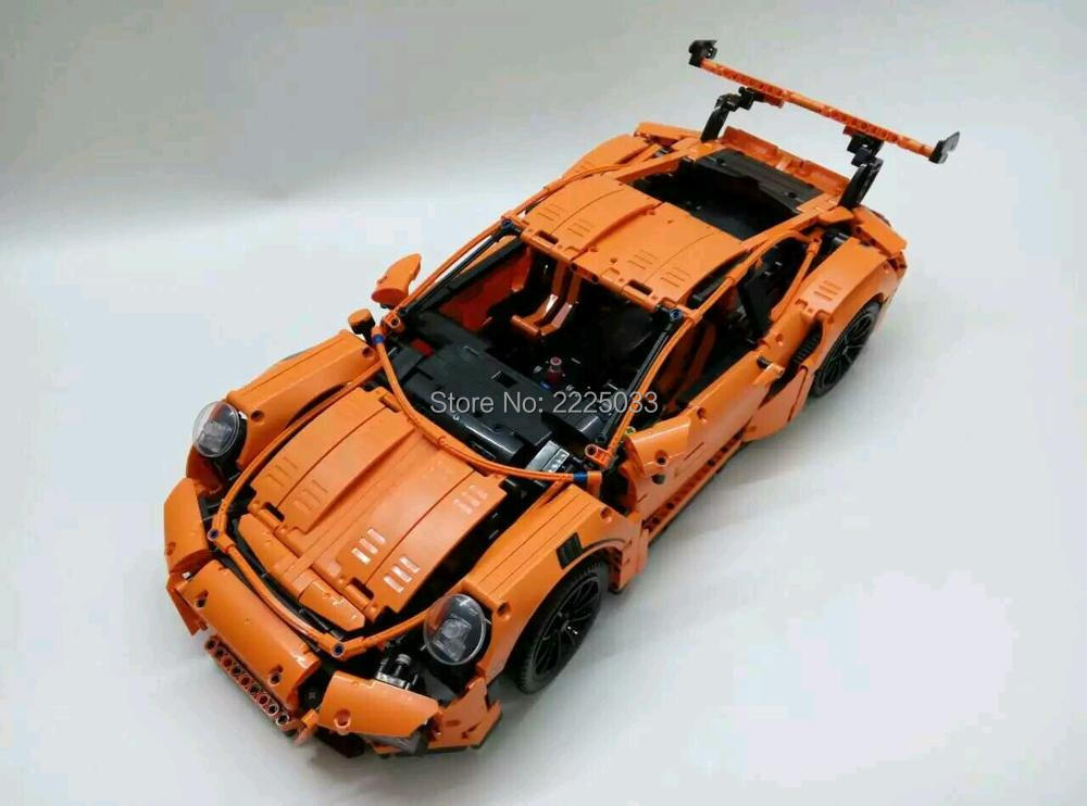 Compatible Withlego 42056 lepin 20001 technic series 911 GT3 RS Model Building Kits Minifigures Blocks Bricks Toys kids gift  -  CJ's shop store