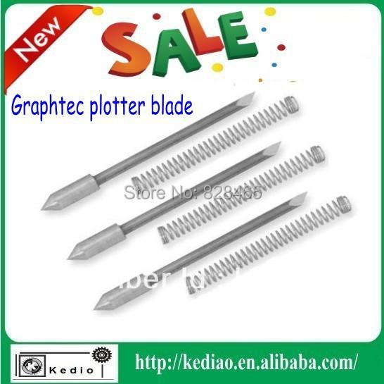 30/45/60 degree CB09U graphtec plotter blade ,vinyl blade 5 pcs,printer blades