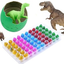 New 60PCS Riverstones Water Magic Growing Dino Egg Hatching Growing Dinosaur Eggs Cute Children Kids Toy For boys 51(China (Mainland))
