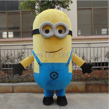2014 New Style Cartoon Mascot costume Free Shipping! EPE Minion Mascot Costume, Despicable Me Mascot Costume