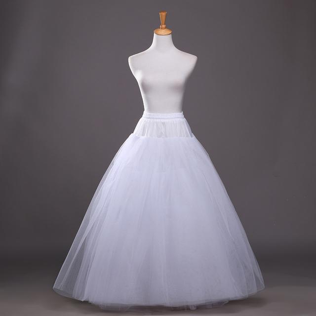 4 слоя горячей нижняя скольжения свадебные аксессуары сорочка без обручей для линии ...