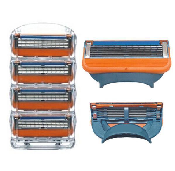 Гаджет  8pcs/lot shaver brand Blade for gilett Fusione original power shaving razor blades for gilete men Standard for shipping None Красота и здоровье