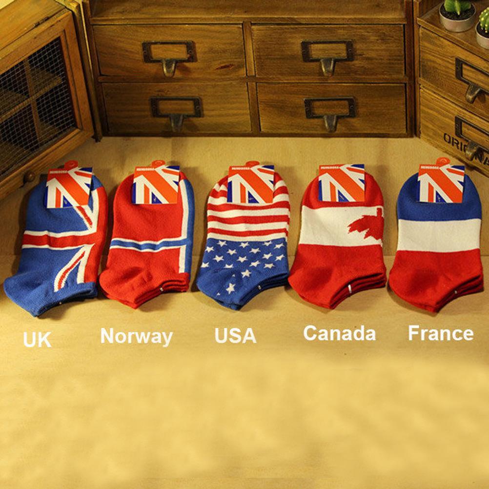 1 Pair Cotton Classic Brand Man Socks Flag Sports Socks New Arrival(China (Mainland))